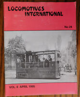 Locomotives International No 28 April 1995 vintage 1990s railway magazine trains