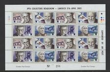 2005 DX242 LIMERICK EXHIBITION SHEETLET WRITERS HEANEY BECKETT SHAW YEATS SCARCE