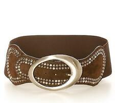 Fashionable Belt Dark Brown