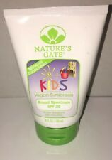Natures Gate - Mineral Kids Broad Spectrum Spf 20 Sunscreen - 4 fl. oz. (118 ml)