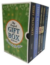 Terry Pratchett Collection Discworld Series 36-40 Books Gift Wrapped Box Set New