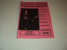 DEVOR-ROCK 08 (1/93) AFGHAN WHIGS ALICE DONUT GARCONS BOUCHERS BONE CLUB