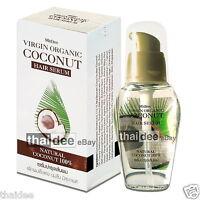 Organic Coconut Hair Serum Keratin Biotin for Dry Damaged Frizzy Split Ends
