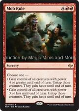 Fate Reforged ~ MOB RULE rare Magic the Gathering card