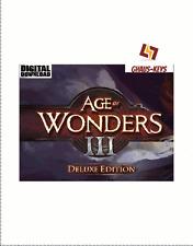 Age of Wonders III 3 Deluxe Edition Steam descarga digital key código [es] [ue] PC