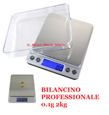 BILANCINO DI PRECISIONE CUCINA  BILANCIA ELETTRONICA DIGITALE LCD PESA GR - KG