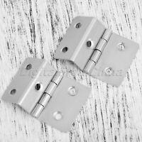 Useful Metal Cabinet Hinges Cupboard Wardrobe Jewelry Box Door Hinge 30mm*34mm