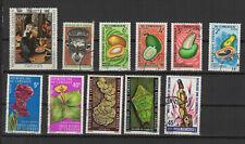 Cameroun 1967-80 11 timbres oblitérés /T2392