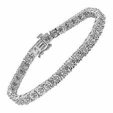 Finecraft 1/4 Ct Diamond Tennis Bracelet