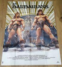 affiche cinema movie poster 120x160 les barbarians