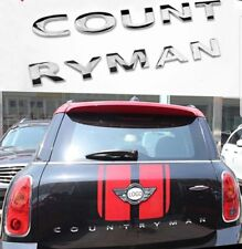 SCRITTA Countryman fregio stemma logo mini Cooper ONE JOHN WORKS Posteriore