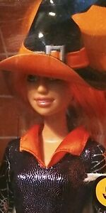 Barbie Doll Collector Trick Or Chic Halloween Witch Mattel NIB