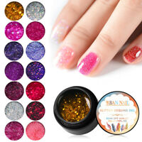 RBAN NAIL Shine Glitter Nail Art Gel Polish Soak-off UV/LED Manicure Nails 5ml