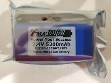 fMA 7.4V Li-ion Battery 5200 mAh by Samsung 50C 2S2PX for LED Bike Light