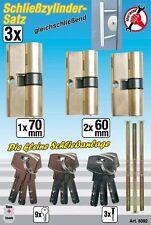 Kraftmann Bgs 8092 profilzylinder-satz, CON CHIAVI UGUALI