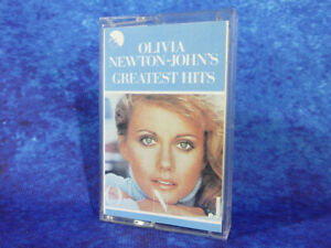 "Olivia Newton-John ""Greatest Hits"" RARE AUDIO CASSETTE TAPE 1976 EMI FREE UK P&P"