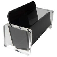 Acrylic Desktop Business Card Holder Display for Desk Elegant Business Card B1D