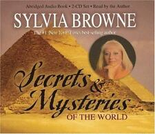 SYLVIA BROWNE: SECRETS & MYSTERIES OF THE WORLD (2005, CD, Abridged)-NEW, SEALED