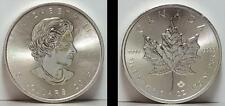 2015 Canada Maple Leaf  5 Dollars 1 Troy Oz 999 Silver