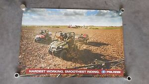 Polaris Ranger XP 800 EFI Ranger 4X4 Dealer Exclusive Poster