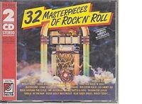 32 Masterpieces of Rock 'n' Roll Little Richard, Bill Haley, Johnny Cym.. [2 CD]