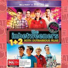 The Inbetweeners Movie / The Inbetweeners 2: Both Oute  - BLU-RAY - NEW Region B