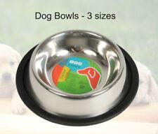 Gamelles et distributeurs en inox pour chiens petits