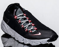 Nike Air Footscape NM men lifestyle sneakers NEW black wolf grey 852629-001