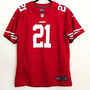 NFL Frank Gore Women's Red White San Francisco 49ers Football Jersey Size XL