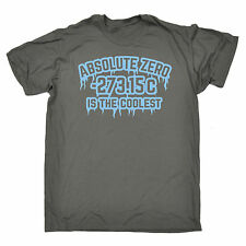 Absolute Zero Is The Coolest T-SHIRT Science Nerd Geek Top birthday fashion gift