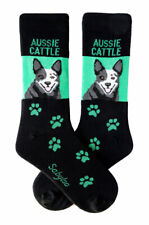 Australian Cattle Dog Socks Crew Unisex