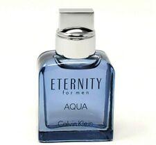 Eternity Aqua By Calvin Klein Travel Size Men Cologne 0.5 oz / 15 ml Edt Splash