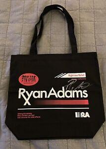 Ryan Adams Signed Tote Bag Prisoner Cold Roses Wilco Nirvana Radiohead Beatles