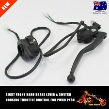 RIGHT FRONT HAND BRAKE LEVER SWITCH HOUSING THROTTLE CONTROL For PW80 PY80