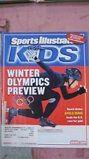 February 2006 Apolo Ohno Olympic Speedskating Sports Illustrated For Kids