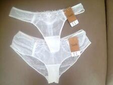 Lot  string + shorty Chantelle t. 36-38 ( XS)  neufs !    ligne rare: Tuileries