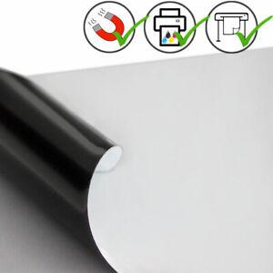 Magnetfolie 28€/m² weiß magnetische Folie selbstklebend bedruckbar Ferro Folie