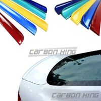 Painted Fit For AUDI A5 4D Sportback Rear Trunk Boot Lip Spoiler Wing 12-16 PUF