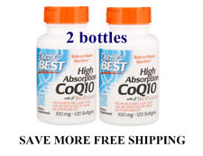CoQ10 plus Doctor's Best, High Absorption Q10 with BioPerine,help improve sperm