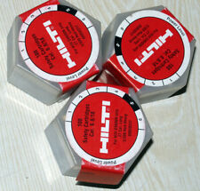 Box Of 100 New Hilti 5/300 Red-Heavy Cal 27 Long Dx600n Safety Cartridges 6.8/18