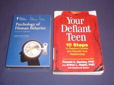 Teaching Co Great Courses DVDs       PSYCHOLOGY OF HUMAN BEHAVIOR    new + BONUS