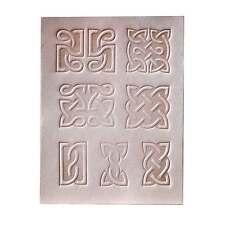 7 pcs Celtic Emboss Plate Set for stamping Veg Tan Tooling Leather