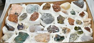 ASSORTED MINERALS CRYSTALS COLLECTION M368