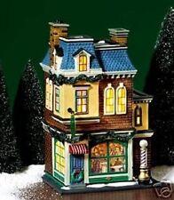 "Dept 56 Christmas In The City ""Midtown Barbershop"" Mib Retired #58944"