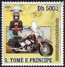 HARLEY DAVIDSON FLSTC Heritage Softail Classic Motorbike / Motorcycle Stamp