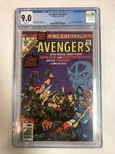 Avengers Annual (1977) # 7  (CGC 9.0 WP)   Thanos App By Jim Starlin