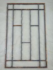 100 X 61 cm - Ancienne grille de porte en fer forgé