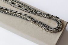 Silpada 4 Strand Popcorn Rope Artisan Sterling Silver Necklace N1719 $199