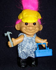 CARPENTER Russ Troll Doll HANDYMAN REPAIRMAN New in Bag SALE