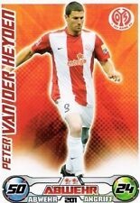 Match Attax  Peter van der Heyden #201  09/10